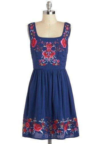 Modcloth 'Judy Blue Skies' Dress