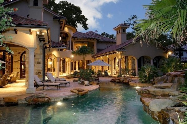 Mediterranean style mansion 59 gorgeous dream houses for for Mediterranean style mansion