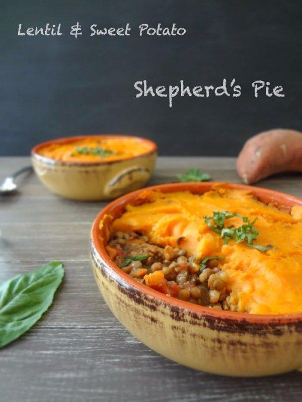 10. Lentil & Sweet Potato Shepherd's Pie - These Lentil Recipes Will ...
