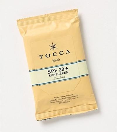 Tocca SPF 30 Towelettes
