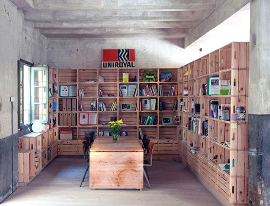 Stack Crates, Stack Books