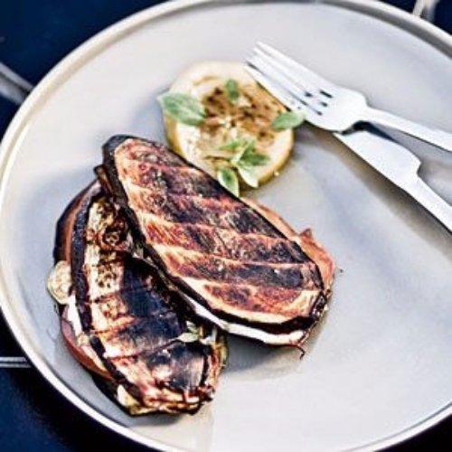 Grilled Eggplant Sandwich Recipe — Dishmaps