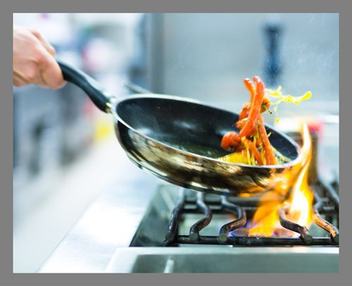 cookware and bakeware, cooking, food, cuisine, wok,