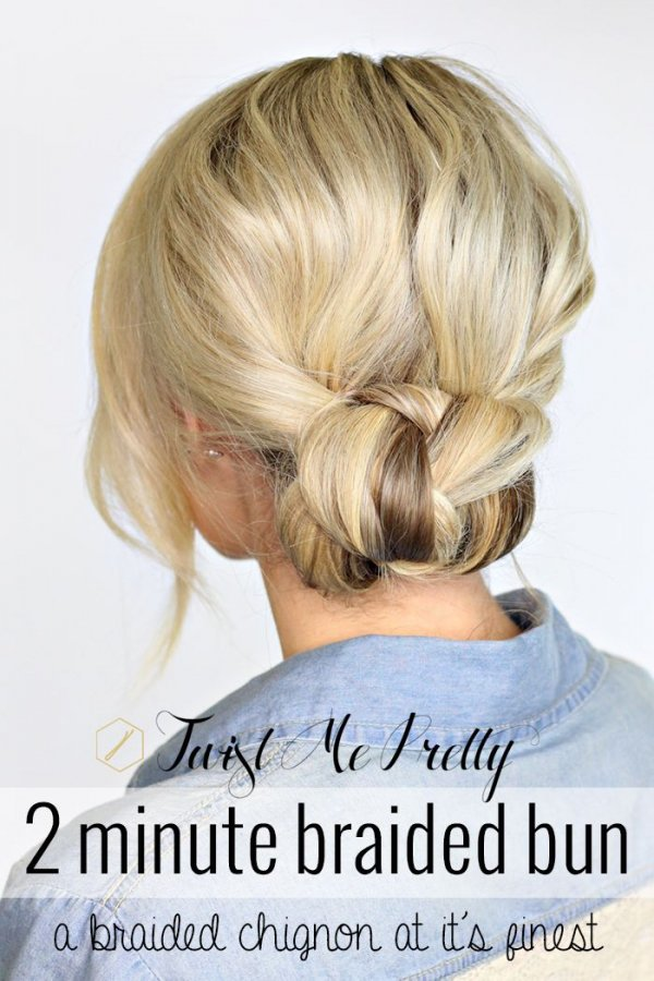 Two Minute Bun Effortless Hairstyles for the Beach and