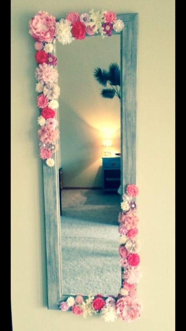 DIY Mirror for Girls Room