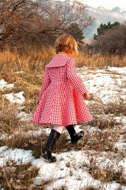A Sweet Coat for Your Little One