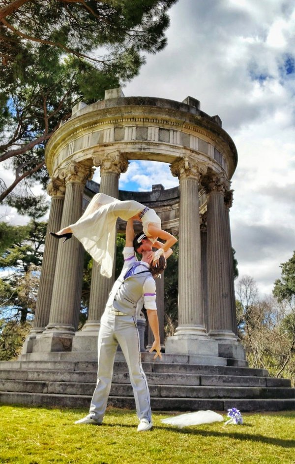 Again in Spain, This Time It's Capricho Park in Madrid