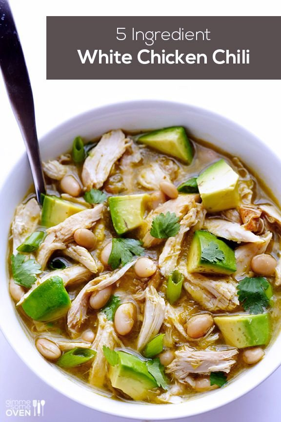 White Chicken Chili - Wait Til You See These 35 Superb Things You…