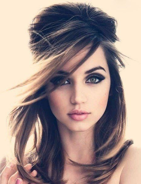 Romantic Beehive Hairstyle for Medium Length Hair