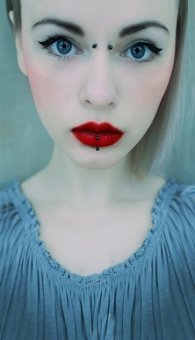 color,face,blue,hair,woman,