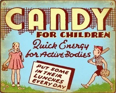 Old Candy Store Sign