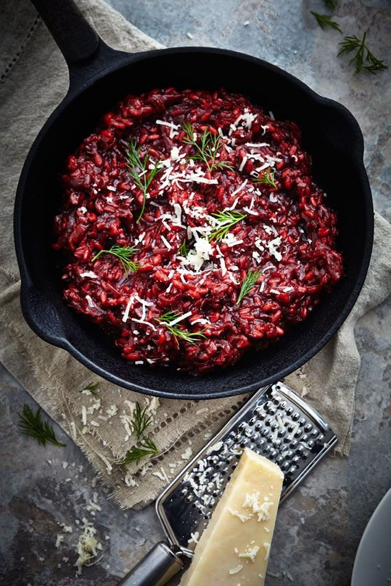 Beetroot Risotto - Thought You Hated Beets? These Decadent…