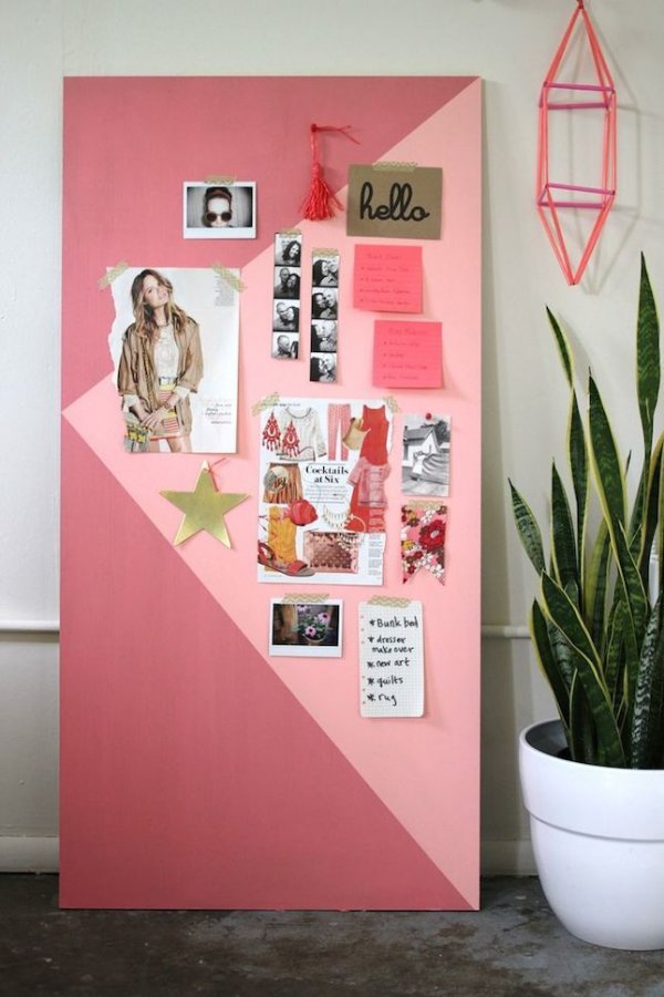 Add A Pop Of Color To Your Room With This Diy Mood Board 20