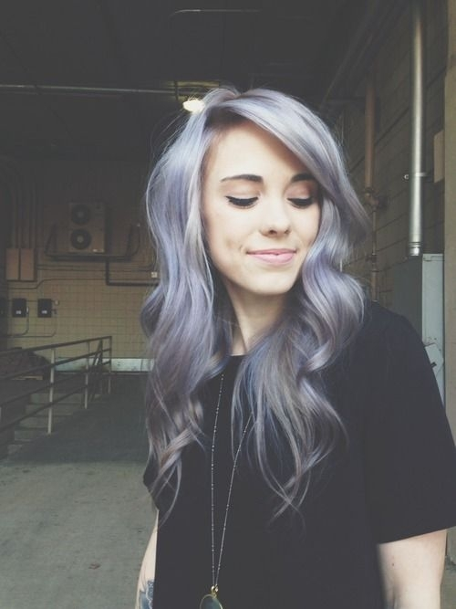 13. Silver Violet - 29 Hair Inspirations for Changing up Your Style…