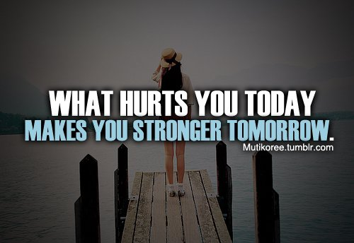 You'll See Your Strength Tomorrow