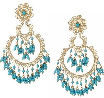 Isharya Sultana Bali Chandelier Earrings
