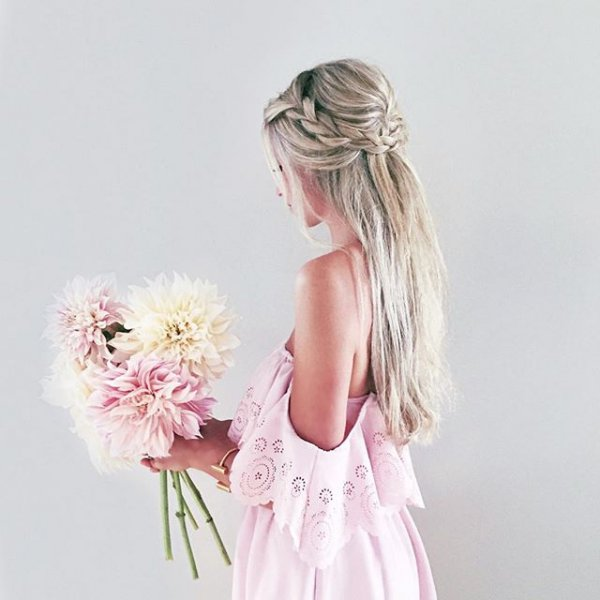 clothing, pink, woman, child, flower,