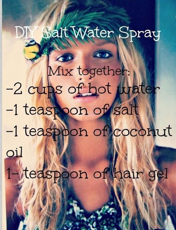 DIY Salt Spray