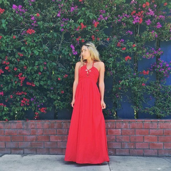 clothing, color, red, dress, woman,