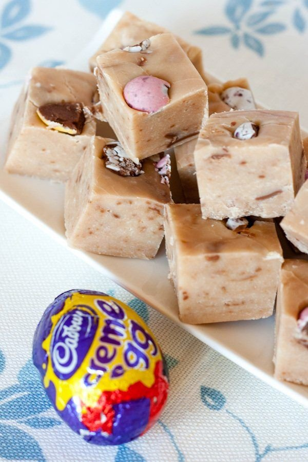 Creme Egg Fudge