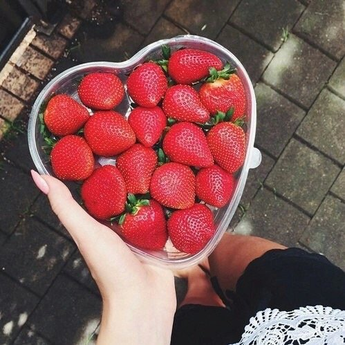 You Can't Go Wrong with Strawberries