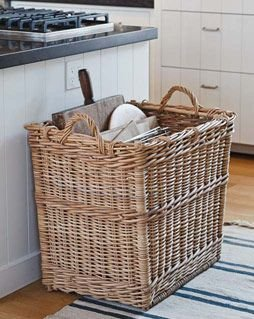 Huge basket 37 storage baskets that will make you want to for 50 kitchen ideas from the barefoot contessa