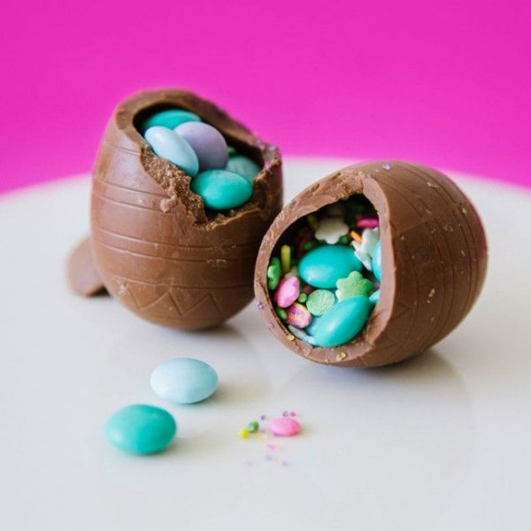 Chocolate Surprise Eggs
