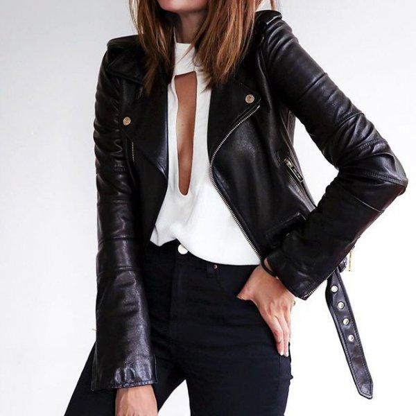 jacket, leather jacket, clothing, leather, textile,