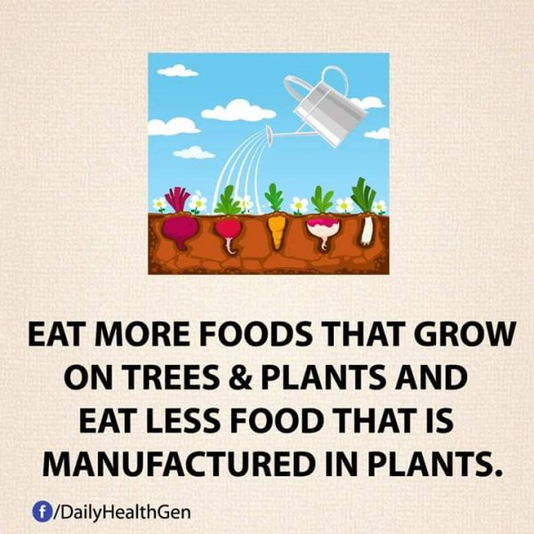 Eat Natural Foods