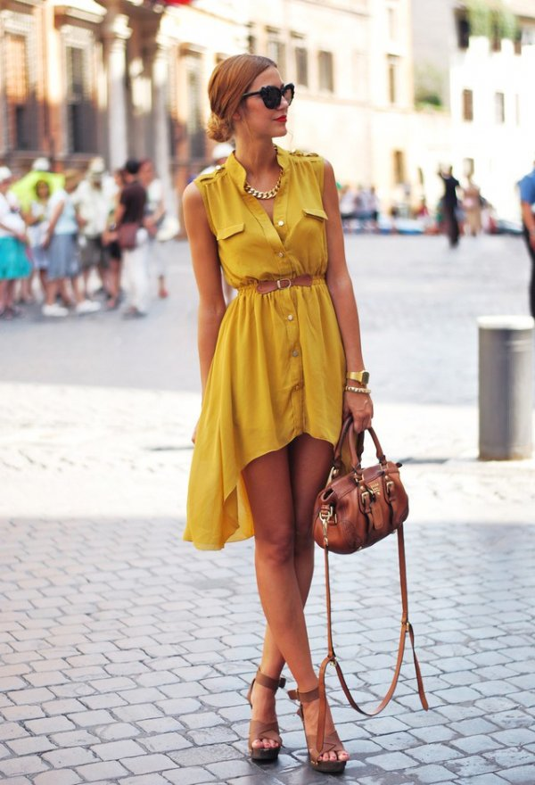 High-Low Dresses - 16 Fabulous Outfit Ideas for the Sagittarius…