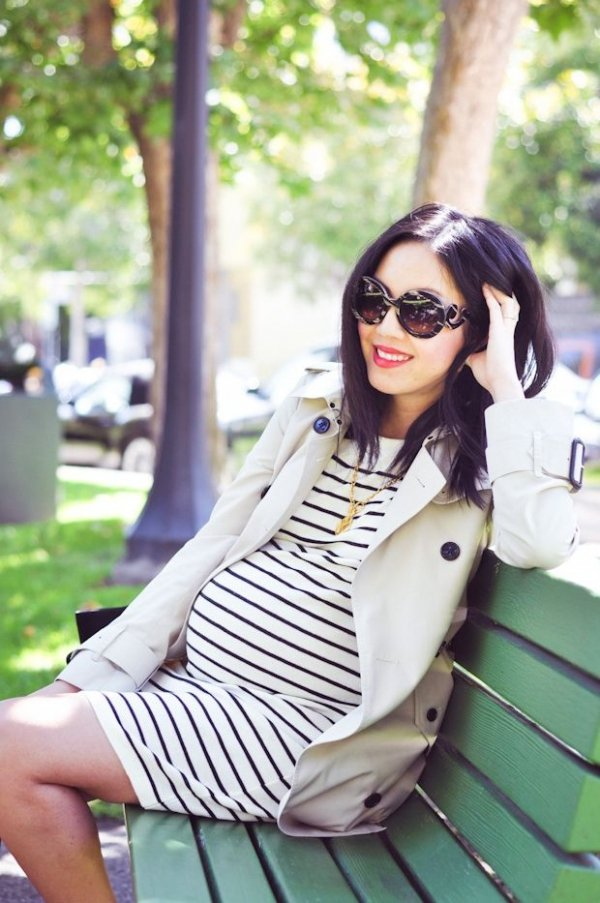 Stripes with a Classic Trench