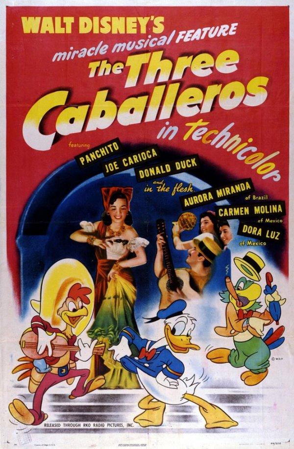 The Three Cabelleros