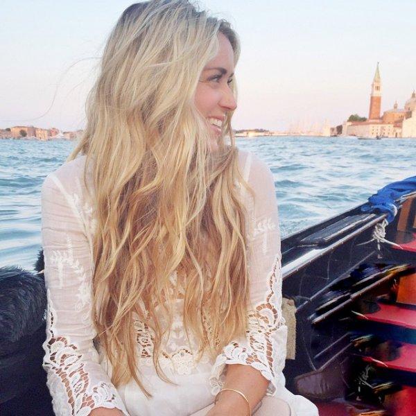 clothing, vacation, sea, blond, watercraft,