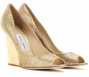 'Bello' Glitter Wedges