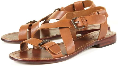 Topshop 'Florida' Simple Buckle Sandals