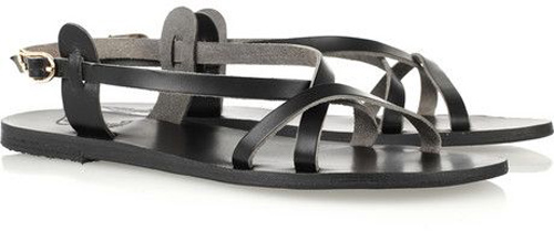 Ancient Greek Sandals 'Myrtis' Leather Sandals