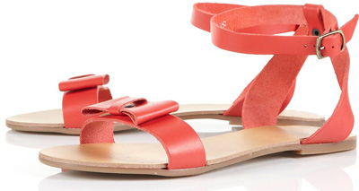 Topshop Hatty2 Bow Sandals
