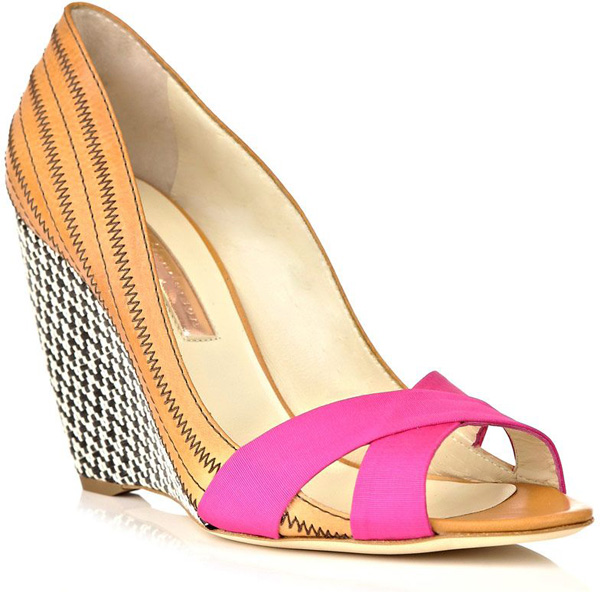 Rupert Sanderson Woven Shoes 30 Statement Wedge Shoes To