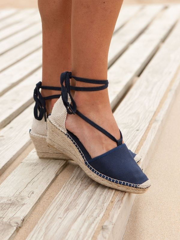 tied up   7 ways to style your espadrilles shoes