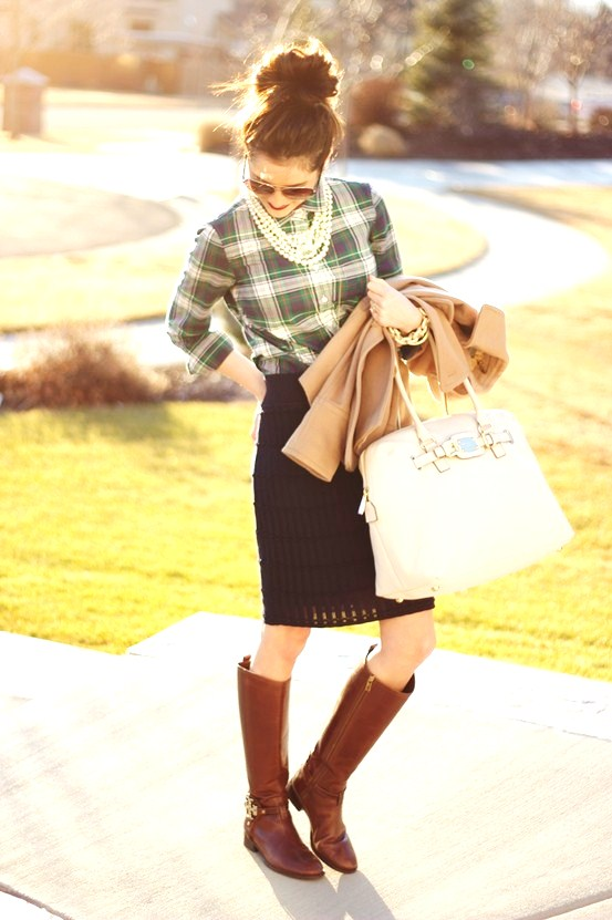 Polished and Professional - 9 Ways to Wear Riding Boots ... …