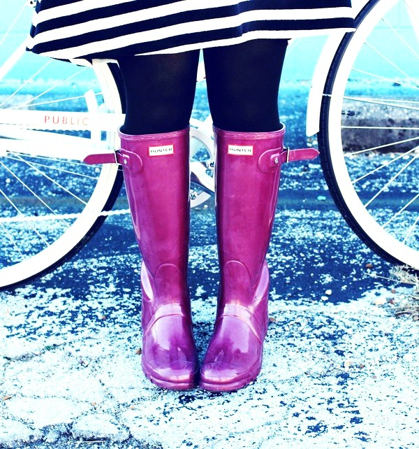 Colors - 9 Fashionable Ways to Wear Rain Boots ... → 👠 Shoes
