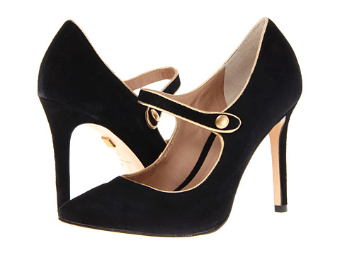 Gold Rimmed Mary Janes