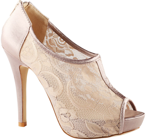 3. Lace High Heels - 8 Pretty High Heel Party Shoes to Rock ... → 👠…