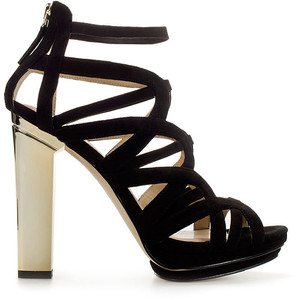 7. Strappy High Heels - 8 Pretty High Heel Party Shoes to Rock →…