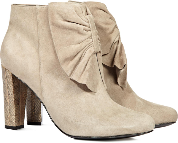 Philippa Bow Front Ankle Boots