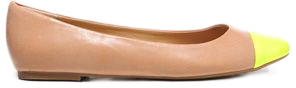 Neon Toe Ballet Flats