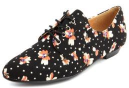 Ditsy Floral Canvas Oxford