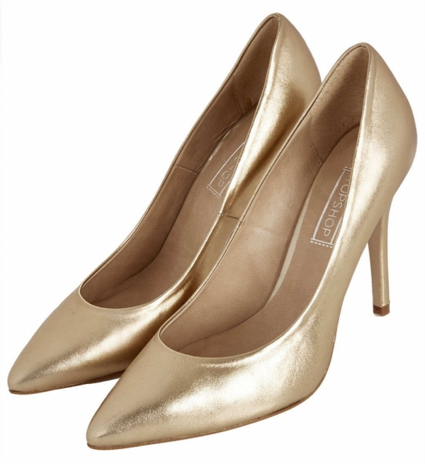 9 Metallic Heels to Glam up Your Outfit This Season → 👠 Shoes