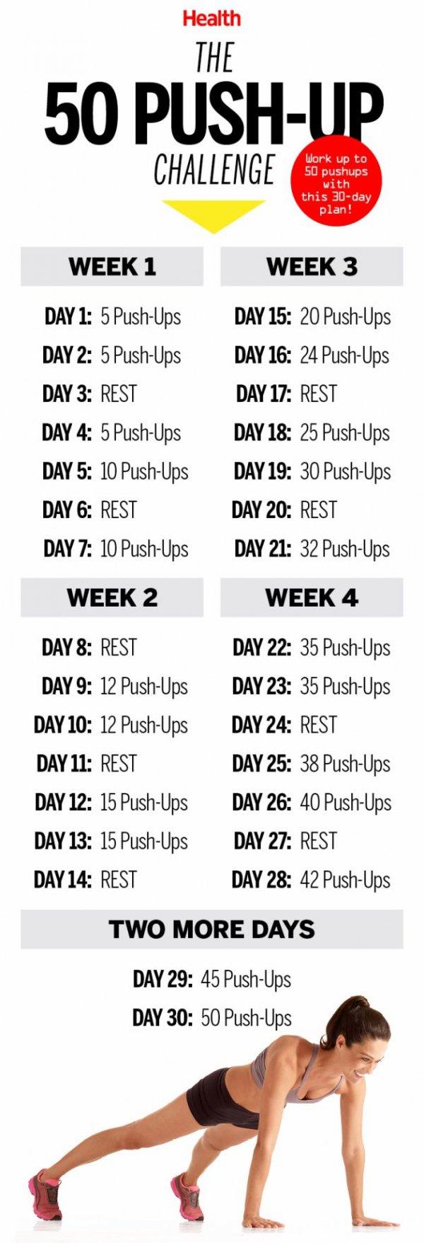 50 Pushups