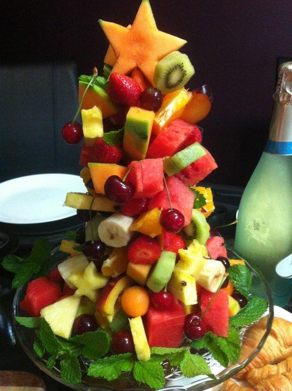 fruit press christmas fruit salad